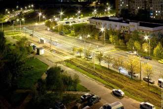 Night Minsk City